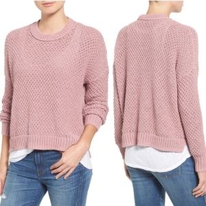 Madewell French Quarter Pullover Sweater size S